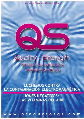 Catálogo de productos QS - Quality-Strength
