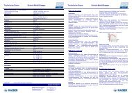PDF herunterladen - Kaiser AG