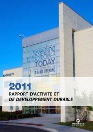 Télécharger le pdf du Rapport Développement Durable ... - Roquette