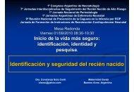 Identificación y seguridad del recién nacido - Sociedad Argentina de ...