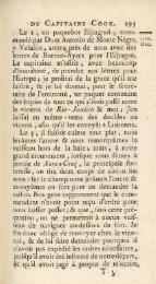 DU CAPITAINE COOK. 29.; « Le 2 , un paquebot Efpagnol , com ...