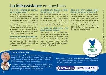 Guide du Service - Présence Verte