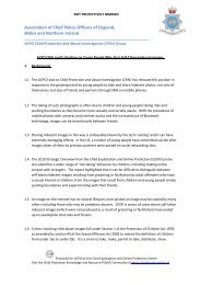 ACPO CPAI Lead's Position on Young People Who Post Self ... - Ceop