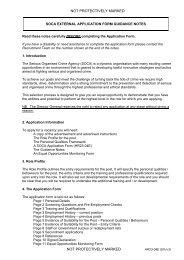 SOCA EXTERNAL APPLICATION FORM GUIDANCE NOTES - Ceop