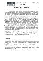 2001 - Comisión Interuniversitaria de Galicia