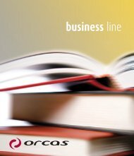 business line - ORCAS Customized Products GmbH