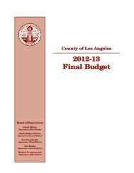 view - Los Angeles County Annual Report