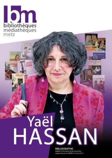 Bibliographie Yaël Hassan (mai 2012) - BM de Metz