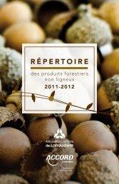 RÉPERTOIRE - Agri-Réseau