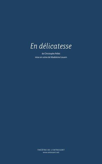 Télécharger le dossier artistique - Théâtre de l'Entresort