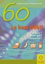 Le haut débit - Conseil général de l'Oise