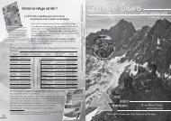Nos activités - Club Alpin Français Grenoble-Oisans
