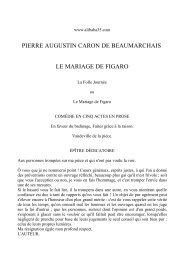 Texte intégral du Mariage de Figaro - Bac de français