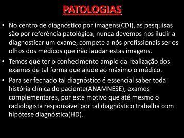 PATOLOGIAS - Comunidades