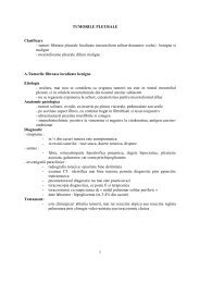 Tumori pleurale - Spitalul Clinic Municipal de Urgenta Timisoara