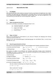 Maxwellrad - Carl-Engler-Schule - Karlsruhe