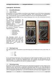 Multimeter - Carl-Engler-Schule - Karlsruhe