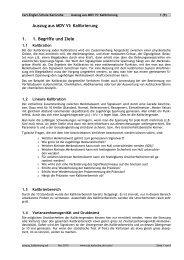 Auszug aus MDV VI - Carl-Engler-Schule - Karlsruhe