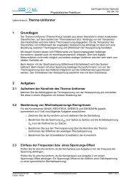Thermo-Umformer - Carl-Engler-Schule - Karlsruhe