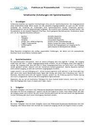 Schaltwerke (Schaltungen mit Speicherbaustein) - Carl-Engler ...