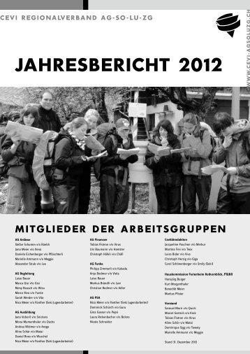 jahresbericht 2012