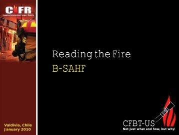 Reading the Fire B-SAHF - CFBT-US!