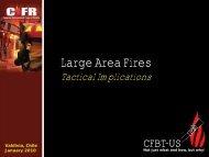 Large Area Fires: Tactical Implications - CFBT-US!