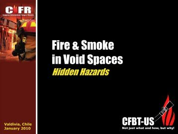 Fire & Smoke in Void Spaces - CFBT-US!