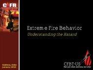 Extreme Fire Behavior: Understanding the Hazard - CFBT-US!