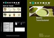 Matcha- Teevollautomat - Together  GmbH