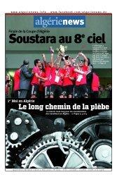 Fr-02-05-2013 - Algérie news quotidien national d'information