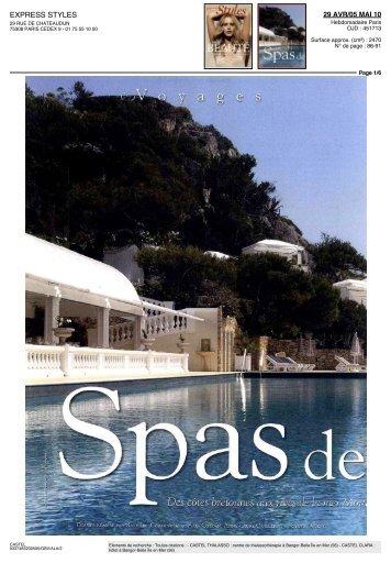 EXPRESS STYLES - Le Castel Clara