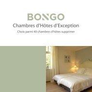 Chambres d'Hôtes d'Exception - Bongo