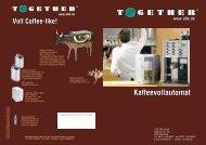 ESP-220G Kaffee-Vollautomat mit 12 Programmen - Together GmbH