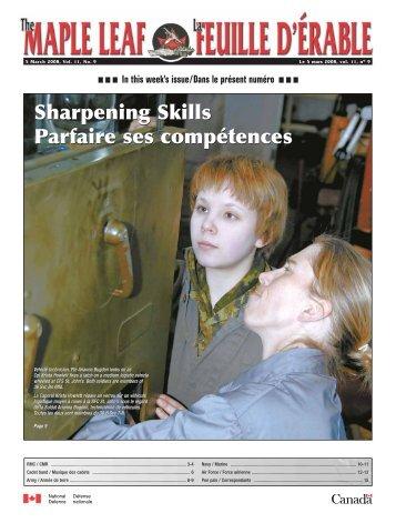 Sharpening Skills Parfaire ses compétences Sharpening Skills ...