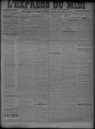 11 avril 1906 - Bibliothèque de Toulouse
