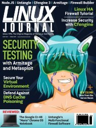 Linux Journal | May 2011 | Issue 205