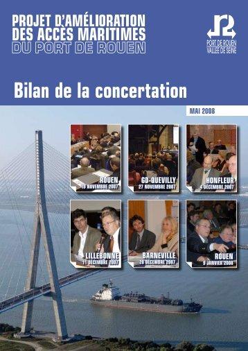 bilan de la concertation - Port de Rouen
