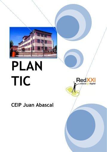 plan tic juan abascal - CFIE de Burgos - Junta de Castilla y León