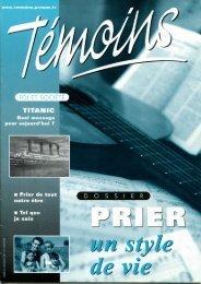 Gagner la paix - Temoins