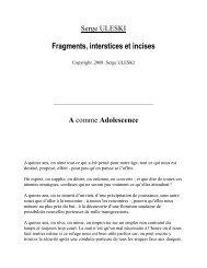 D - Serge ULESKI - Le Nouvel Observateur