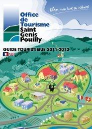 guide touristique 2011-2012 - Office de Tourisme de Saint-Genis ...