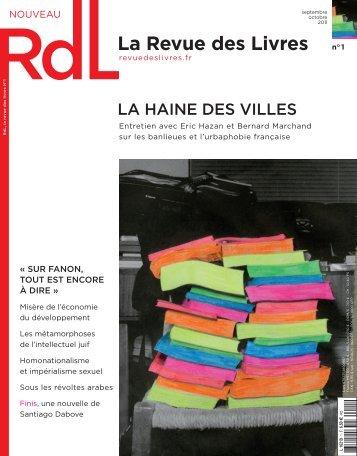 science studies - RdL La Revue des Livres