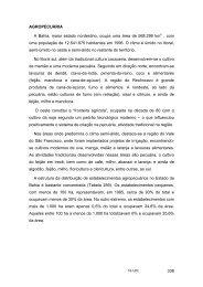 338 AGROPECUÁRIA A Bahia, maior estado nordestino, ocupa ...