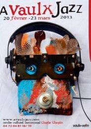 le dossier de presse À Vaulx Jazz 2013 - AFIJMA