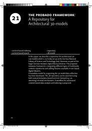 the probado framework - Computer Graphics Bonn