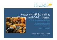 01 Wilke Zusatzkosten von MRSA im Krankenhaus - HRZ Uni ...