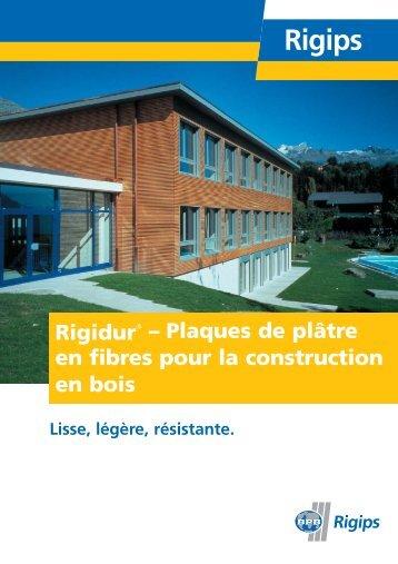 Rigidur-Brosch_fr_06/05 - Rigips