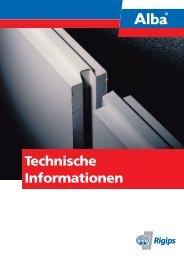 Technische Informationen - Rigips