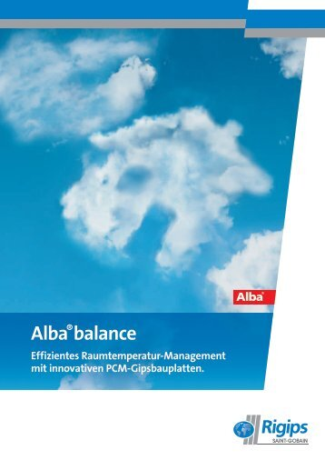 Alba®balance - experiment:pool